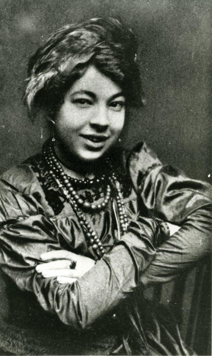 Pamela Colman Smith em Outubro de 1912